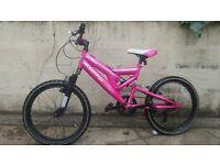 """MuddyFox girls mountain bike mtb 20"""" wheel"""