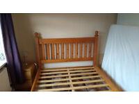 King Size Wooden Bed Frame