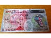 7 Joey Dunlop Novelty £50 notes