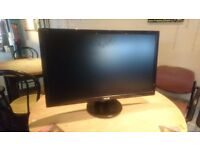 Asus VE278H 27-inch Widescreen LED Monitor - 1080p Great Condition
