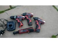 Sealey battery tools