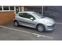 Peugeot 207 with new MOT