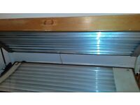 Double sunbed new tubes perfect working order selling cheap as need gone quick