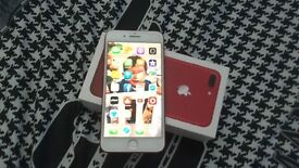 IPHONE 7PLUS 128 GB RED EDITION
