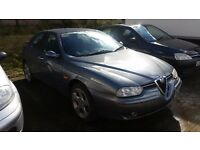 Alfa 156 for parts or repair some new parts fitted no offers