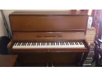 hamilton upright piano - good condition but needs tuning. Ideal first piano for new beginner