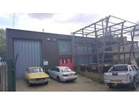 Steel frame commercial unit 7000 square foot