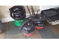 Two Henry hoovers one George.