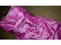 Pink Kelsey Rose Bridesmaid Dress (size 18) £40 o.n.o