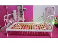 IKEA MINNEN BEDS FRAME WITH MATTRESSES