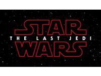 Star Wars The Last Jedi Tickets *MIDNIGHT PREMIERE SHOW* BRIGHTON MARINA x2