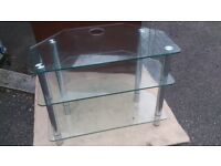 tv stand glass up to 40 inch tv