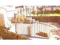 Fore Sale: Wrought Iron Garden Gates