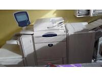 xerox DC240 copier and printer with fiery controller& finisher