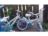 Frozen bikes 80 for both hardly used