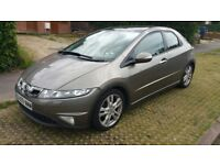 automatic honda civi 1.8 engine 1yr mot, 5drs, clean in & out well maintained, perfectly condition