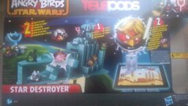 Angry birds star wars star destroyer telepods set for sale £10