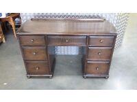 Antique wood vanity dresser