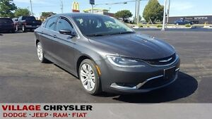 2016 Chrysler 200 Limited 8.4 Screen,Backup Camera,18 Aluminum W