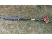 Husqvarna 325 HE4 x-series long reach hedge cutter.