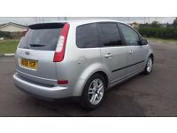 FORD FOCUS CMAX 1.6 IN CLEAN CONDITION. 1 YEAR MOT. FULL SERVICE HISTORY. ALL PREVIOUS MOT AVAILABLE