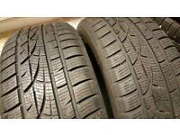 205 50 17 2 x tyres Hankook Winter i*cept Evo M+S W310