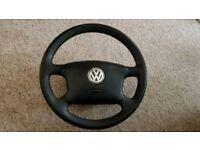 VW Mk4 Golf steering wheel