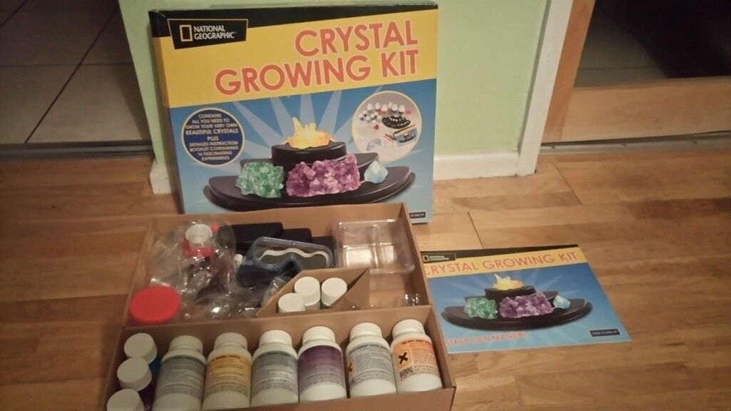 Crystal growing kit (National Geographic)