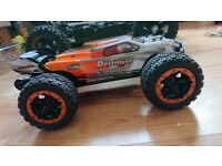 SMALL SCALE RC TRUCKS, CARS, SPEEDBOATS