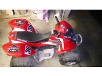 Battery operated quad in very good condition