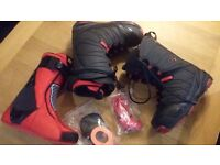 Thirtytwo Prime -2017 Snowboard boots (used 3 days) 9.5UK