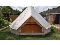 Soul Pad 5000 Ease Bell Tent for Sale. Purchased brand new last year, only used three times.