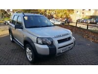 LEFT HAND DRIVE AUTOMATIC FREELANDER LOW MILEAGE IN SOUTH EAST LONDON