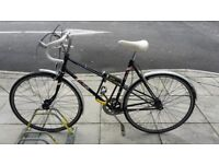 Road bike with OnGuard U-Lock and Cable Lock