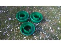 Brand New Botanico Quick Fit Grow Bag Support Kit x3 & 3 X Plant Halos Red Green Watering Halo Ring