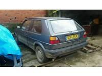 Volkswagon Golf MK2 1.3 £650 Mot'd, running driving