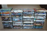 Over 100DVD,S (incl Star Wars, Harry Potter, Bourne, Lord of the Rings and many more)
