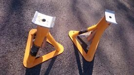 Pair of axle stands.