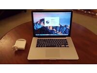 BARGAIN...Macbook Pro Intel i7 - 15inch. (Mid 2010) - 240GB SSD - 8GB RAM