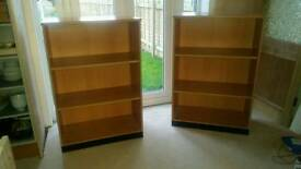 Bookcases x 2 for sale