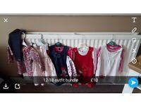 Girls clothes excellent condition 12-18m