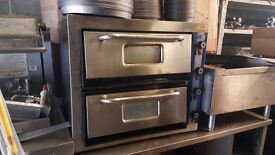 """PIZZA BOY PIZZA OVEN ELECTRIC PIZZA OVEN DOUBLE DECK 8X12"""" PIZZABOY OVEN SPECIAL OFFER"""