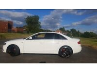 AUDI A4 S LINE WHITE FULLY LOADED ELECTRIC SUNROOF BARGAIN PRICE