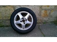 Honda Accord 2002 single alloy wheel 195/60 R15