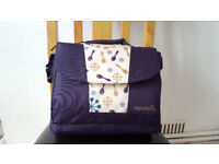 Munchkin Travel Booster Seat with Nappy Storage