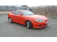2005(05)HYUNDAI COUPE 2.0 SE BRIGHT RED,LEATHER,GREAT RUNNER,CHEAP CAR