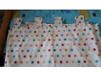 Mamas and papas nursery curtain