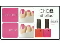 CND shellac & Sienna X spray tan