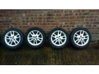 """Fiat punto wheels with 15"""" tyres"""