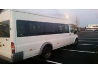 MINIBUSES HIRE 12/17 SEATERS